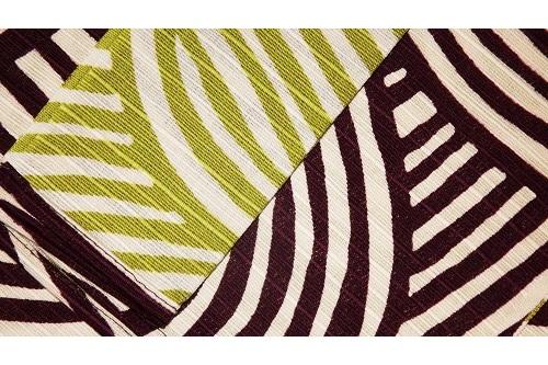 Furoshiki Shima lightgreen/deeppurple 48cm 5