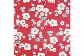 Furoshiki Umehana red 70cm 12