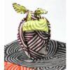 Furoshiki Shima lightgreen/deeppurple 48cm 7