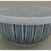Kleine Keramik-Schüssel Sensuji mit Mikrowellen-Deckel 4