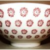 Keramikschale Ume aka 15.5cm 2