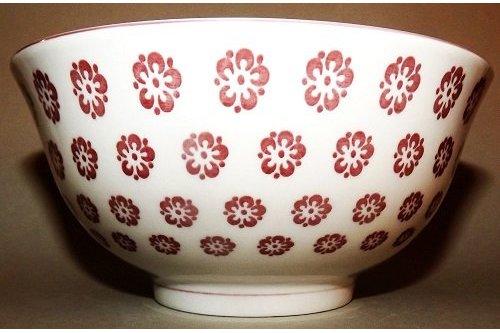 Keramikschale Ume aka 15.5cm 1