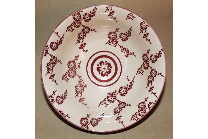 Keramikschale Ume aka 15.5cm 5