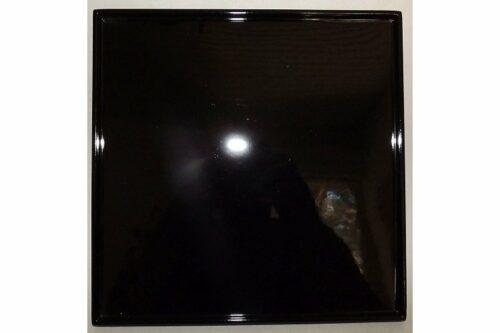 Lack-Teller/-Tablett/-Sushiplatte kuro 10