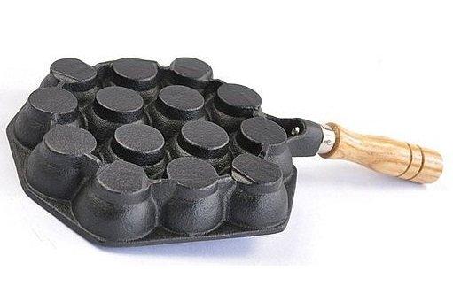 Takoyaki-Pan Gusseisen für alle Herdarten 4