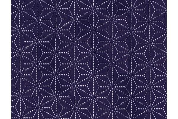 Yukata / Baumwoll-Kimono Asanoha 1