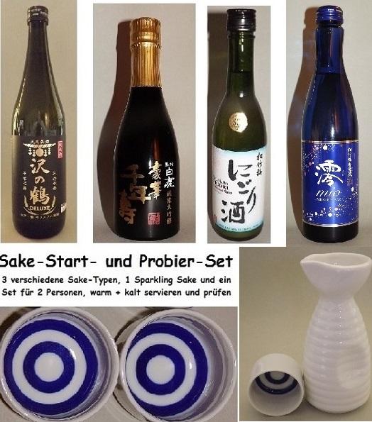 Sake-Start-Set einfach 7 tlg. 1
