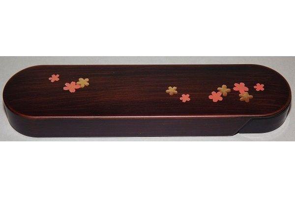 Hashi-Bako Sakura mit Steck-Stäbchen 1
