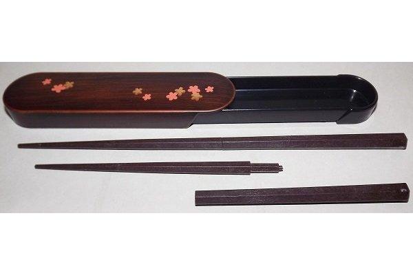 Hashi-Bako Sakura mit Steck-Stäbchen 3