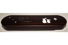 Hashi-Bako Sakura mit Steck-Stäbchen 11