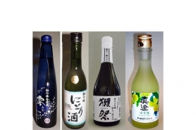 "Sake-/Shochu-Set ""4 Gänge"" 7"