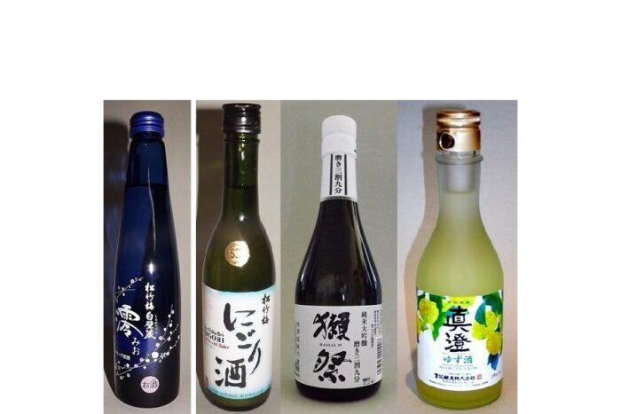 "Sake-/Shochu-Set ""4 Gänge"" im Präsentkarton 1"