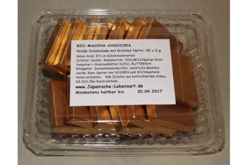 Maccha-Choccora 20 x 4.5g = 99g 8