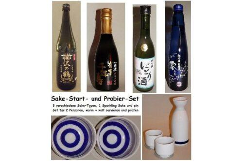 Sake-Start-Set einfach 7 tlg. 5