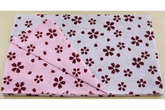 Tenugui einfach Sakura aoi/pinku 1