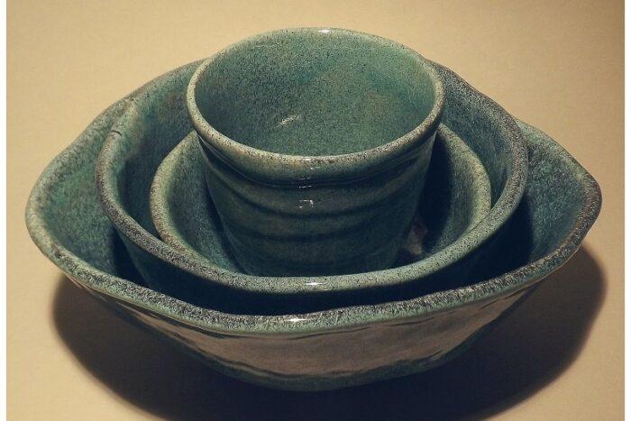 Yamasaku Suppen-/Reis-Bowl petrol 5