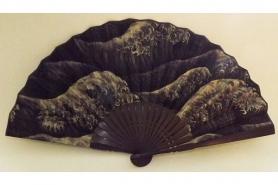 Furoshiki Fish/Asanoha grey/red100cm 8