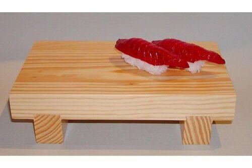 Sushi Geta Holz 27 cm (Asien) 7