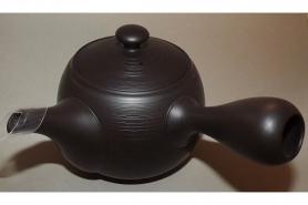 Keramik-Schale Oribe kuro 11