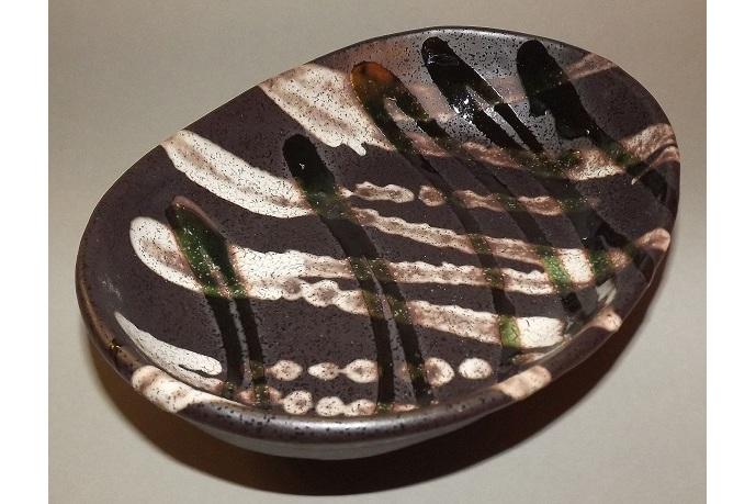 Keramik Schale/Platte Inazuna 1