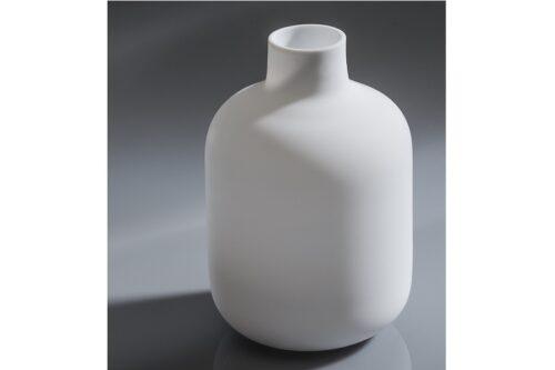 Tokkuri Glas weiß feinstens satiniert 430ml 6