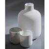 Tokkuri Glas weiß feinstens satiniert 430ml 2