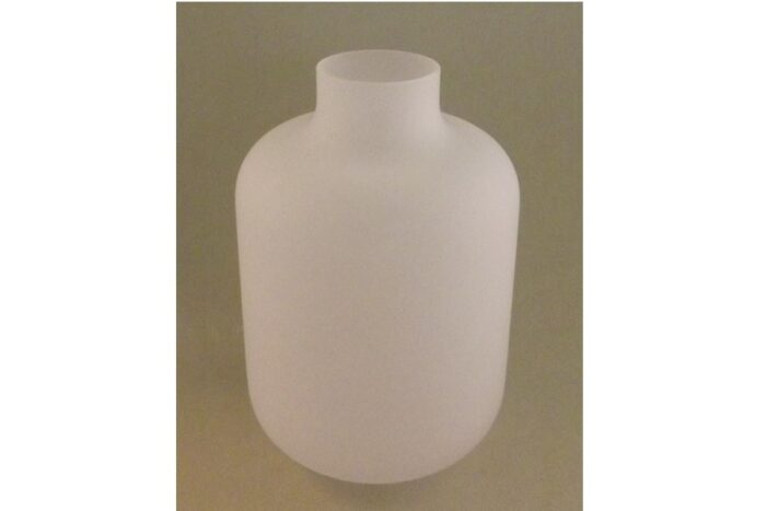 Tokkuri Glas semi-transparent - feinstens satiniert 430ml 1