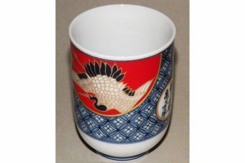 Keramikbecher Tsuru & Kame 8