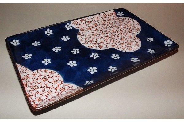 Teller/Platte Yakimonosara Ume/Sakura 2