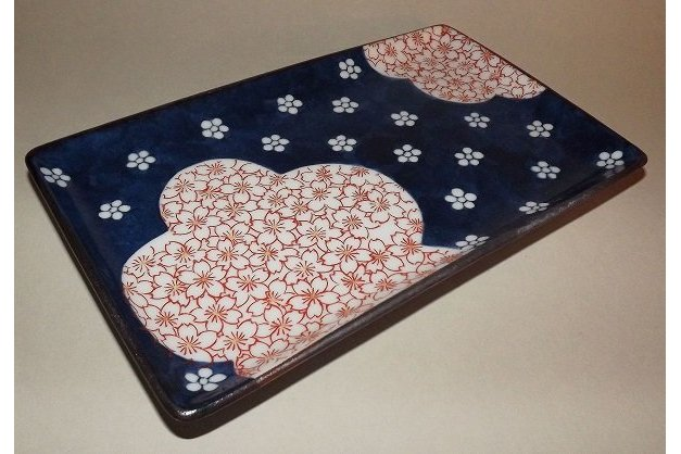 Teller/Platte Yakimonosara Ume/Sakura 3