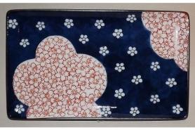 Teller/Platte Yakimonosara Ume/Sakura 6