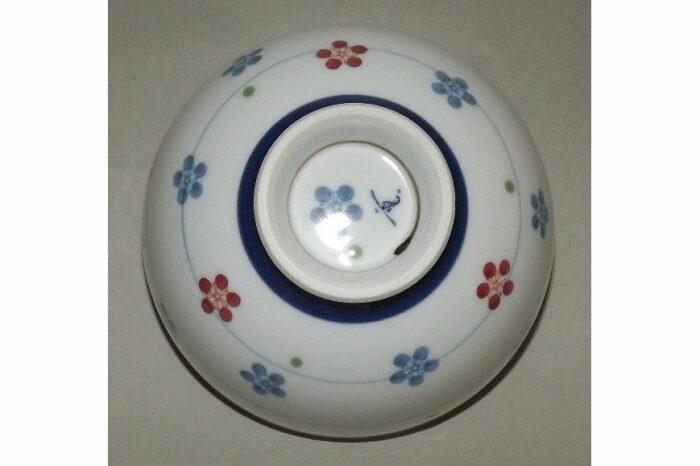 Keramik Reis-Schale Uzu Hana Chirashi 1