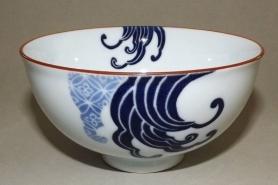 Keramik Reis-Schale Nami shiro 11