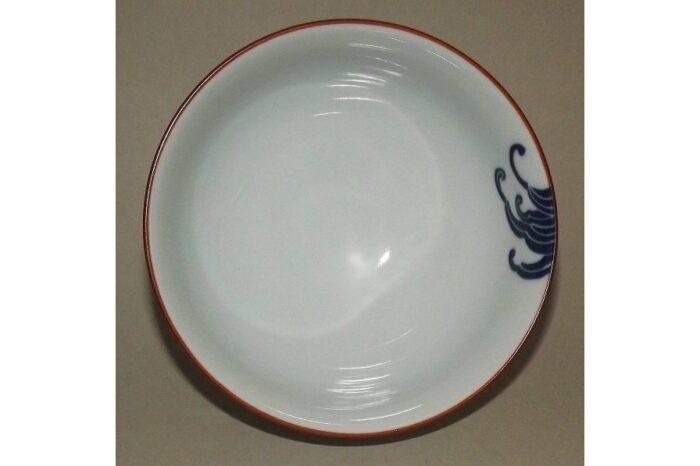 Keramik Reis-Schale Nami shiro 2