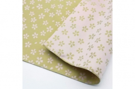 Furoshiki Karakusa Moss lightgreen/lightrose 50 cm 10