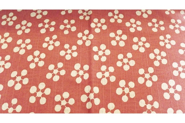 Furoshiki Rikyubai pink/grey 48 cm 1