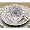 Bowl Tokusa shiro Set mit 5 ineinander passenden Schalen 7