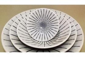 Bowl Tokusa shiro Größe 1 7