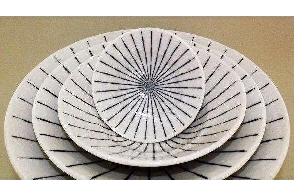 Bowl Tokusa shiro Größe 1 1