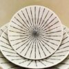 Bowl Tokusa shiro Set mit 5 ineinander passenden Schalen 8