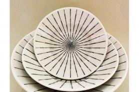 Bowl Tokusa shiro Größe 1 9