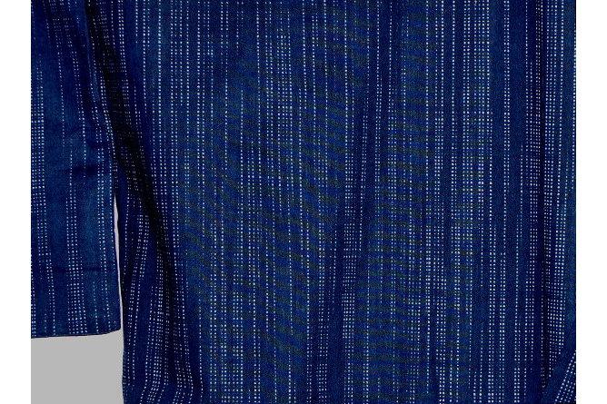 Kimono Kasuri aoi 1