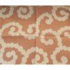 Furoshiki Karakusa Moss lightgreen/lightrose 50 cm 3