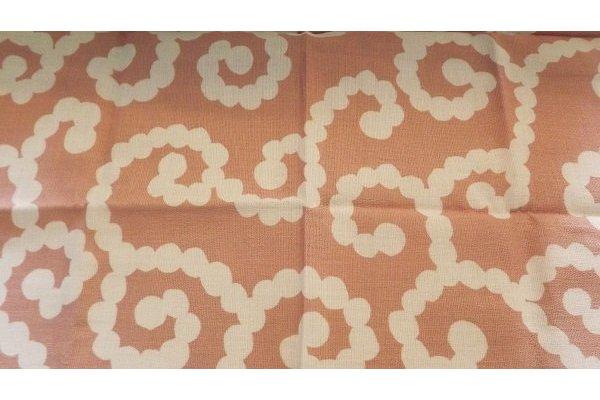 Furoshiki Karakusa Moss lightgreen/lightrose 50 cm 2