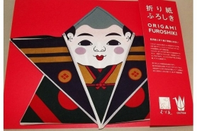 Furoshiki Rikyubai pink/grey 48 cm 9