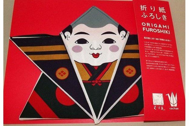 Furoshiki Origami Fukusuke 50 cm 1