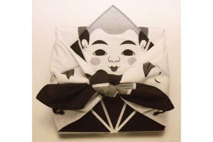 Furoshiki Origami Fukusuke 50 cm 4
