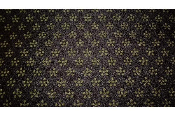 Furoshiki Rikyubai black/green 45 cm 1