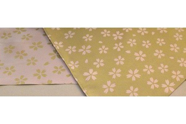 Furoshiki Sakura lightgreen/lightpink 48 cm 3