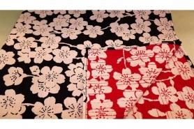 Furoshiki rostrot/dunkelbraun 48 cm 8